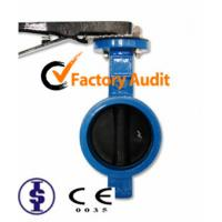 Quality Lever Operated Grooved End Butterfly Valve High Performance And Low Pressure for sale