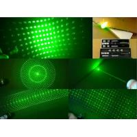 Quality 200mw High Power 5-IN-1 Green Laser Pointer/Laser Pen for sale