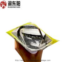 Quality Heat Seal Custom Printed Resealable Bags Plastic 3 Sides Seal For Wire Packaging for sale