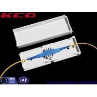 Best Indoor Fiber Optic Terminal Box , Drop Cable Protection Box Adapter Box 1 Cores SC / APC wholesale