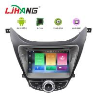 Quality I35 Android 8.0 Hyundai Car DVD Player Dashboard With Steering Wheel Control for sale