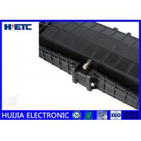 Buy cheap Black IP68 Fiber Optic Closure / Fiber Enclosure Box Corrosion Resistance from wholesalers