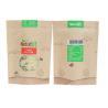 Buy cheap China manufacturers Food grade custom laminated brown kraft paper ziplock bag from wholesalers