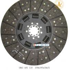 "Quality 1861640135 350*195*10*51 volvo 0512 hub profile 2""-10n for sale"