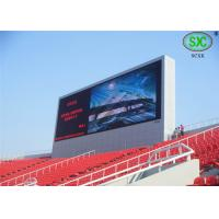 Quality High Definition p10 SMD Digital Stadium LED Displays For Outdoor Exhibition for sale
