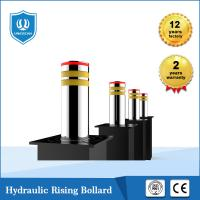 Quality Waterproof Traffic Road Safety Barrier Parking Hydraulic Rising Bollard Stainless for sale