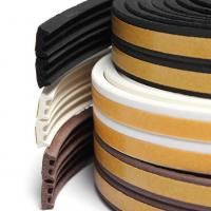 Quality Flexible medium density sponge silicone rubber flat seal strip for sale