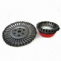 Quality Steel Wire Brushes, Suitable for Descaling, Polishing and Roughening with Twist Wire for sale