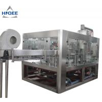 Quality High Efficiency Carbonated Drink Filling Machine For Small PET Bottle 5800kg for sale