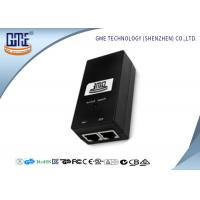 Quality GME Switching Power Adapter 48V 0.5A Black Regulated AC DC Adaptor for sale