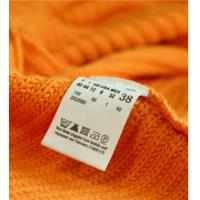Quality high density woven tag of neck label for sale