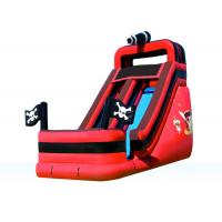 China Attractive Fun Inflatable Pirate Slide , Amusement Park Outdoor Inflatable Slide on sale