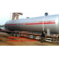 Quality Nigeria lpg gas station used 60m3 horizontal lpg tank with low price for sale
