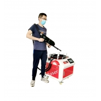 Quality Laser Rust Cleaning Machine Eco-friendly Laser - Restoring an old Fire place for sale
