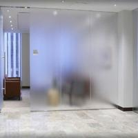 Buy cheap China acid etched tempered shower glass door prices from wholesalers