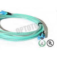 Durable Mpo Mtp Patch Cord  Φ3 , MPO Cable Assemblies High Density Solution
