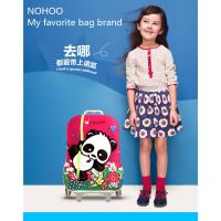 Quality 3D Cartoon Hard Shell Kids Suitcase , Kids Travel Luggage Outside Trolley for sale