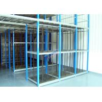 Quality Customized Supply Chain Auto Parts Rack , Durable 4S Warehouse Storage Racks for sale