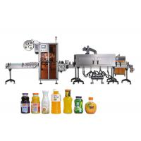 Quality China Supplier Digital Control Beer Bottle Shrink Sleeve Labeling Machine With Steam Generator for sale