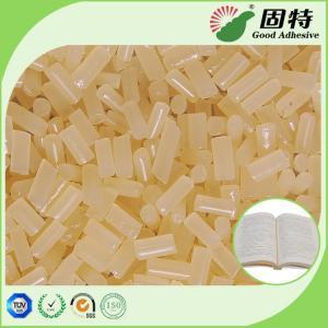 Buy cheap Writing Paper Side Glue EVA Yellowish granule Bookbinding Hot Melt Pellet Hot from wholesalers