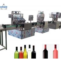 Quality Alcohol Carbonated Drink Filling Machine Line For Vodka Whisky GIN Sealing for sale