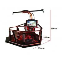 Quality 1 Players Interactive Shopping Mall VR Games ,  9D VR Walking Platform for sale