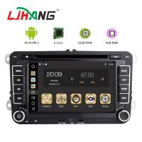 Quality 7 Inch Touch Screen Volkswagen DVD Player Android 8.1 Car With Wifi BT GPS AUX for sale