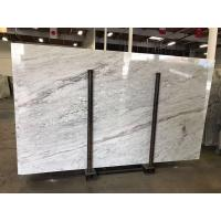 China Colonial White Luxury Granite And Quartzsite Stone Slab For Book Matched Background on sale