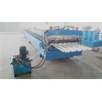 Buy cheap 11KW Trapezoidal Roof Panel Roll Forming Machine Roof Tile Making Equipment from wholesalers