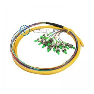 Quality 50/125um 10Gb OM3 Lc Singlemode Fiber Pigtail Fusion Splicing for sale