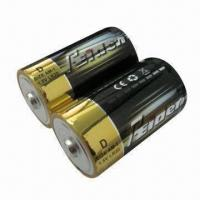 Quality D Size Alkaline Batteries with 1.5V Voltage for sale
