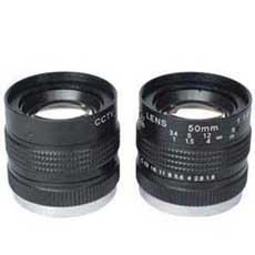"Quality 1/2"" 50mm F1.8 Manual Iris Fixed Focal CCTV Lens, mono-focal CS-mount lens for sale"