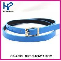 China Chritmas Promotion Gifts Fashion Ladies Skinny Belt on sale