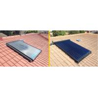 Quality flat panel solar collector and heat pipe solar collector generate domestic hot water for sale