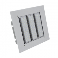 Quality 50w 100w 150w IP65 LED Canopy Lights Recessed Installation For Gas Station for sale
