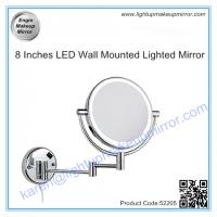 China 8 Inches LED Wall Mounted Lighted Mirror on sale