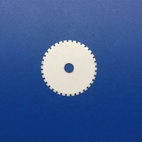 Quality Wear Resistance Toothed Round Ceramic knife Blades And Knives for sale