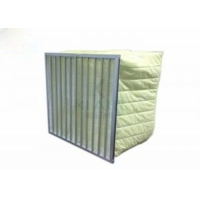 Quality Melt Blown Synthetic F7 to F9 Bag Filter Good Performance With Low Energy Cost for sale