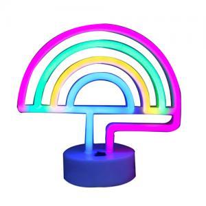 Quality Rainbow led neon light home decor lights for sale