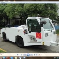 Quality 27500 Kilogram Aircraft Tow Tractor Reverse 20 Km / H Max Speed Long Life Span for sale
