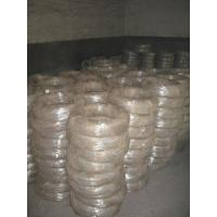 Quality Zinc Soft Flexible Galvanized Iron Wire , Electric Steel Wire Small Coils for sale