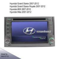 Best Hyundai Starex H1 i800 iload imax radio Car DVD player bluetooth TV GPS navigate NAV-H7112 wholesale