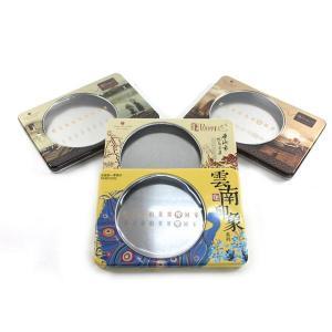 Quality Custom printed window tea tin box for sale