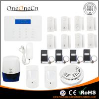 Quality Intercom Wireless GSM Home Alarm System Support Different Language for sale