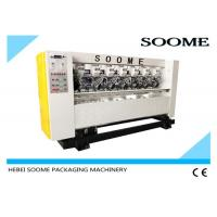Left Right Moving Thin Blade Slitter Scorer Machine Effective With High Speed 80m/Min