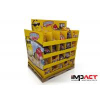 48x40'' Cardboard Pallet Display UV Varnish Cardboard Product Display Stands