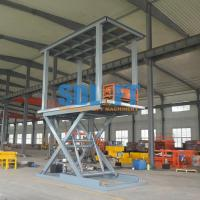 China 6T 3M 2 Level Hydraulic Garage Parking Car Lift Mechanical Parking System on sale