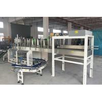 Quality Non - Round Bottles Top Load Case Packer , Auto Carton Box Packaging Machine for sale