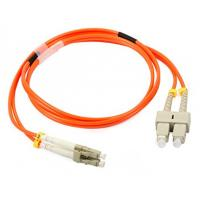 Quality LC / UPC - SC / UPC Multimode Fiber Patch Cord for OM2 Fiber Jumper Cable 50/125 for sale
