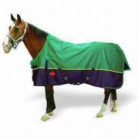 Quality Seamed Turnout Horse Blanket, Made of 600D Polyester, with Waterproof and Breathable Features for sale